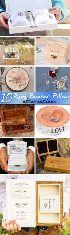 10 Fun Alternatives to Ring Bearer Pillows