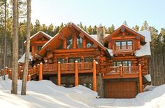 Boulder and Summit County Photographer - Beaton Photography: Mountain Log Homes of Colorado