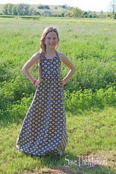 Jolinas Welt: Elise Sommerkleid (ein Freebook von rosarosa)