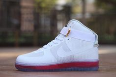 Nike Air Force 1 High White Hot Fashion Runing Women Shoes #Nike #RunningCrossTraining