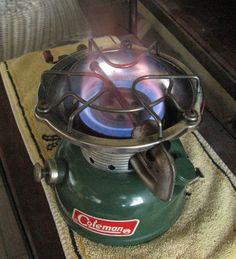 The Coleman 502 Sportster, one hell of a camp stove. I rescued one for $2.50 at. Farm auction. This thing is just awesome.