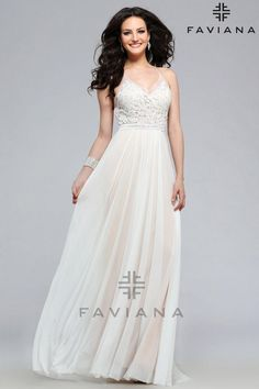 FAVIANA | PROM 2016 | IN STOCK TODAY **FAVIANA WEEKEND 1/23-1/24** | Party Dress Express | 657 Quarry Street | Fall River, MA | partydressexpress.com #prom #promdress