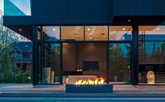 Experience Modern Fire  |  Paloform designs and manufactures modern outdoor fire pits, fireplace surrounds, tiles and wall claddings in handcast concrete, Corten and stainless steel. Our products embody our belief in simple, appropriate design and honest materials. They are the result of almost twenty years of experimentation and refinement.  All of our modern firepits, fireplaces and tiles are manufactured with pride in Toronto, Canada, and shipped worldwide.