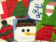 Insulated Batting Is Perfect For Creating Christmas Trivets - Patterns available by 15Nov