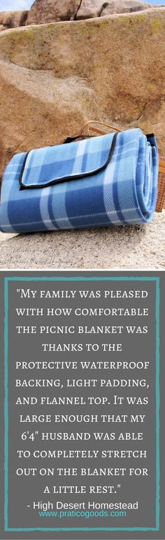 Are you looking for the perfect picnic blanket? You might love our Extra Large Fleece Picnic Blanket as much as this reviewer does.