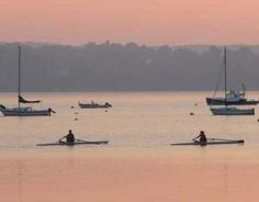 navesink river rowing dawn