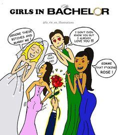 TÉLÉVISION : Le Bachelor, le gentleman célibataire sur NT1  #Frenchtv #TV #Television #TheBAchelor #Bachelor #Illustration #Drawing