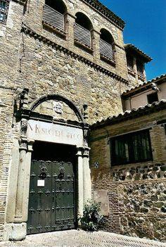 """CASA MUSEO DE """"EL GRECO"""". Allí vivió El Greco. Atesora algunas de sus obras como """"San Pedro Penitente"""""""