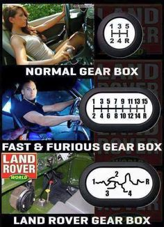 How's your gearbox ? How the Land Rover gearbox looks. Well not always . - How's your gearbox ? How the Land Rover gearbox looks… Well not always – when the clutch - Truck Memes, Funny Car Memes, Really Funny Memes, Car Humor, Haha Funny, Funny Cars, Hilarious, Good Jokes To Tell, Mechanic Humor