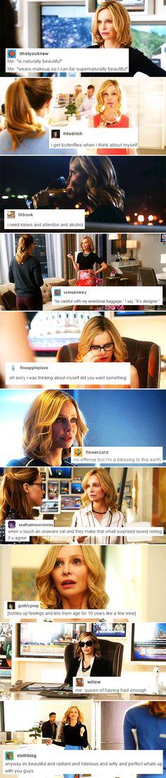 Cat Grant + popular text posts ~ part 2 #supergirl
