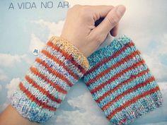 punhos de lã deliciosamente suave #Noro #Malabrigo