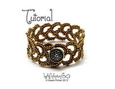 TUTORIAL Athena's Acanthus Bracelet Beaded with