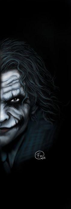 Batman vs Joker by on DeviantArt Joker Images, Joker Pics, Joker Art, Joker Iphone Wallpaper, Joker Wallpapers, 8k Wallpaper, Heath Ledger Joker, Le Clown, Comic Kunst
