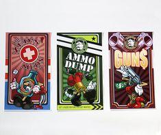Borderlands 2 Vending Machine Posters Set of 3 by BabbitsBoutique Video Game Wedding, Wedding Games, Borderlands 1, Vending Machine, Playstation, Xbox, Best Games, Game Room, Board Games