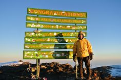 James Sprayregen, '82 (pictured), and his daughter Molly climbed Mount Kilimanjaro in May 2014. James is a member of the Dean's Advisory Council and one of the founding members of the Global Scholars program. James was also President of the Sigma Alpha Mu fraternity, of which his son and current U-M student Charlie is a member.
