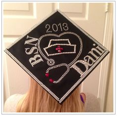 Best Blinged-Out Nursing Graduation Caps | Midlevel U