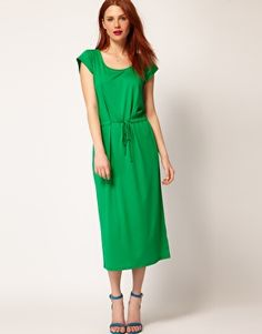 Whistles Charlotte Jersey Maxi Dress