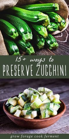 Preserving Zucchini, Preserving Food, Cold Summer Dinners, Clean Eating Recipes, Healthy Eating, Fruit Preserves, Dehydrator Recipes, Canning Recipes, Canning Tips