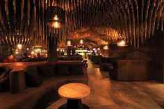 housed in a 200sqm rectangular area which opens to a garden in the south, the design celebrates hookah smoking tradition with a bold and modern twist.