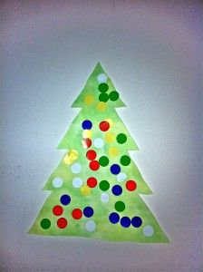 Toddler Christmas Tree from My Baby Footsteps