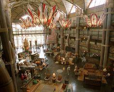 The Lobby of Disney's Animal Kingdom Lodge