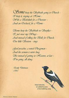 My favorite Emily Dickinson