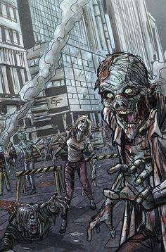 Zombies by Ferigato.deviantart.com