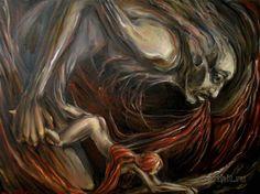 You are mine  Aleksej Cvelov Expressionism