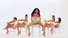 Pin for Later: 16 Bootylicious Moments From Nicki Minaj's New Video This Intense Body-Rolling