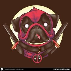 Pugpool T-Shirt - Deadpool T-Shirt today at Ript!