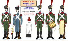 Dalmazia Rgt. Reale cmp. carabinieri 1812