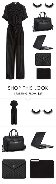 """Untitled #5148"" by im-karla-with-a-k ❤ liked on Polyvore featuring Alexander Wang, Speck and Yves Saint Laurent"