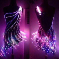Ashley Clark by Lisa Mckinnon Designs, Inc.   Fiber Optic Costume Kit Creations