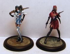 Kid Solvent Photo Blog: Malifaux Nurses