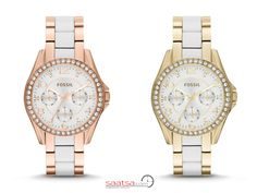 Hangi rengi tercih edersin ? :)  #saatler #bayanSaatleri #watches #moda #fashion #fossil #fossilwatches