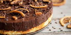A sumptuous chocolate orange cake recipe from chef Shaun Rankin that is garnished with dried orange crisps for a superb extra crunch.