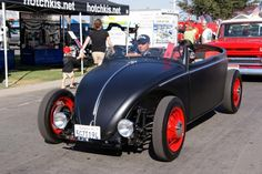 """""""Volksrods""""  Love this culture of hot-rodding and modifying old VW's"""
