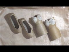Ballet Slipper / Shoe and Art Dress Tutorials - TP Roll Crafts. Link download: http://www.getlinkyoutube.com/watch?v=HaxYVg0_JBc