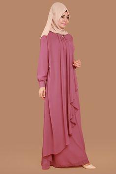 30 Hijabs for Muslim Women Niqab Fashion, Muslim Fashion, Modest Fashion, Girl Fashion, Fashion Dresses, Hijab Style Dress, Abaya Designs, Muslim Dress, Islamic Clothing