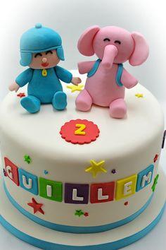 El pastel de Pocoyo