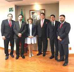 GCP: LA PRESIDENTA DEL DIF, MERCEDES CALVO SE REUNIÓ CO...