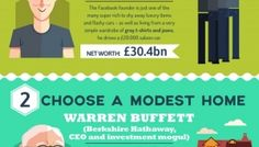 11 Frugal habits of the Super Rich.  http://designtaxi.com/news/385512/Infographic-11-Frugal-Habits-Of-The-Super-Rich/