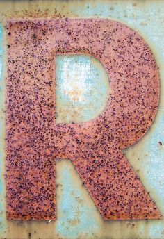 R is for RUST #patternpod #beautifulcolor #inspiredbycolor