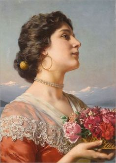Image result for Adolf Henning: Girl from Frascati
