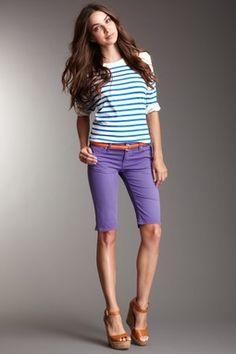 bermuda shorts for girls