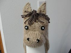 Horse head hat pattern : For Christmas / Nativity costume ??
