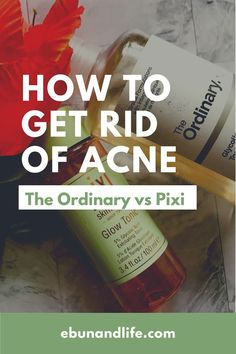 Are you struggling with really bad acne and you're searching how to get rid of blackheads in a week? Then you should read this post where I compare cult favourites; The Ordinary Glycolic Toner vs Pixi Glow Tonic #acne #acnetreatment #blackheads #acnescars #skincareproductsthatwork Skincare For Oily Skin, Drugstore Skincare, Skincare Routine, Tea Tree Oil For Acne, Pixi Glow Tonic, Korean Beauty Tips, Bad Acne, Beauty Secrets, Beauty Products