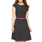 Nine & Co.® Fit and Flare Tiered Dress