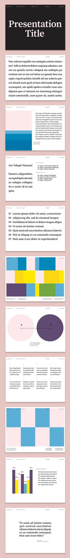 Colorful Presentation Layout – Image | Adobe Stock