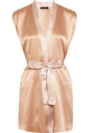 Kiki de MontparnasseNudite silk-charmeuse robe